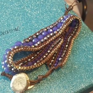 Purple Wrap Bracelet